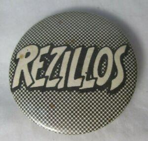 The Rezillos Vintage Circa 1980 36mm Badge Pin Button Punk New Wave The Revillos