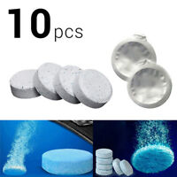 10x Car Windscreen Window Cleaner Wash Tab Glass Effervescent Tablet Auto CareNT