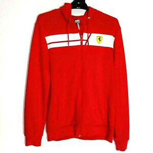 Ferrari Puma Hoodie Jumper Long Sleeve Red Kids XL (12) Official Ferrari Product