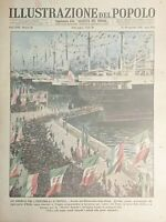 Settimanale Illustrazione del Popolo N.46 Sbarco dei Ventimiglia a Tripoli 1938
