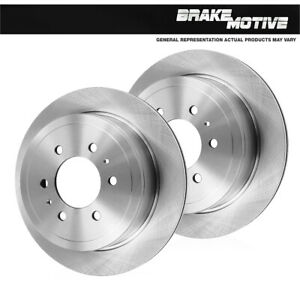 For 2002 2003 2004 2005 2006 Expedition 2WD 4WD 2 Rear Brake Disc Rotors