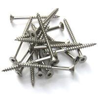 Spanplatten Schrauben Edelstahl V2A Torx Teilgewinde Holzschrauben 3,4,5,6mm