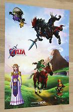 2011 Nintendo 3DS The Legend of Zelda Ocarina of Time 3D promo Sticker Set