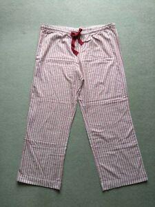 Gap Body Ladies Stripe Pyjama Bottoms Size XL BNWT