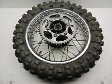 Yamaha YZ 80 yz80 1979 Rear Wheel Tire Rim  Moto Cross D26