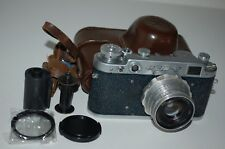 Fed-2, Type C2, Genuine Blue Version Soviet Rangefinder Camera. 555479. UK Sale