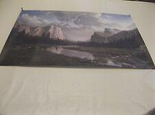 "Artwork, Dino Massaroni-Sierra Sunrise-25""x15"" Print w/Signature & Date 1989"