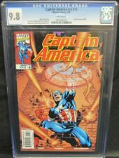 Captain America #v3 #13 (#480) (1999) Kubert Cover CGC 9.8 White Pages Y649