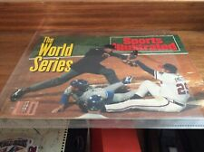 """USED SPORTS ILLUSTRATED MAGAZINE OCT. 26,1992 """"THE WORLD SERIES ISSUE"""""""