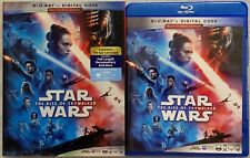 STAR WARS THE RISE OF SKYWALKER BLU RAY & BONUS 2 DISC SET SLIPCOVER EPISODE IX