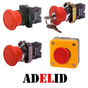 Notausschalter Not-aus-Schalter Druck Notschalter Auschalter Druckschalter