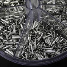 1900er Sortiment Aderendhülsen Streudose Spender Hülsen unisoliert 0,5 - 2,5 mm²