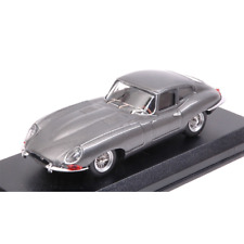 JAGUAR E COUPE' 1962 GUN METALLIC 1:43 Best Model Auto Stradali Die Cast