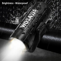 LED Lamp Flashlight With 4 Modes Torch USB Cycling Rechargeable Bike Accessories
