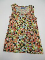 SIMPLY VERA VERA WANG T5057 Women's Size XS Sleeveless Floral Print Knit Top