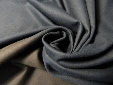 100% Baumwolle Flanell Dark Navy Raportware 1,80m Hemd Bluse Jacke Neu Stoffe