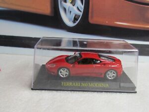 ALTAYA / DEAGOSTINI - FERRARI 360 MODENA - 1/43 SCALE MODEL CAR - WITH CASE