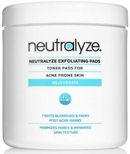 Neutralyze Exfoliating Pads | Maximum Strength Acne Treatment Pads.
