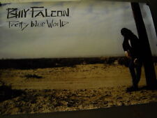 Billy Falcon Large 1991 Promo Poster for Pretty Blue World mint condition