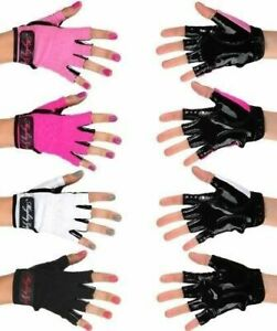 Might Grip Pole Dancing Gloves tack Fitness, Gym, aerial BLACK