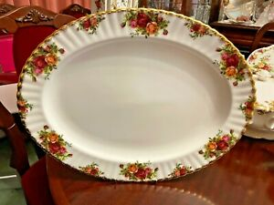 Royal Albert Old Country Roses 42cm Large Platter Made in England