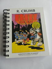 Fritz The Cat von R. Crumb (2008 Potcard Planner) - Comic