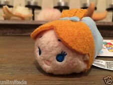 "Disney Store Peter Pan Tinker Bell Wendy Darling Mini Tsum Tsum 3.5"" Authentic"