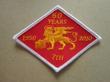 60 Years Cloth Patch Badge Boy Scouts Scouting L6K