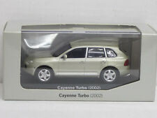 Porsche Cayenne Turbo in gelbsilbermetallic, 2002, Minichamps, 1:43, Porsche-OVP