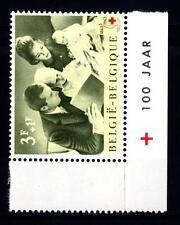BELGIUM - BELGIO - 1963 - Centenario della Croce Rossa Internazionale.
