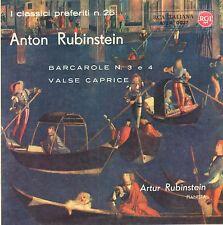 ANTON RUBINSTEIN - Barcarole n. 3 , 4 / Caprice De Valse - Rca Ita - A72R-0027