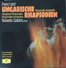 DGG 2709 044-LISZT-UNGARISCHE RHAPSODIEN-ORIGINAL 3 LP BOX SET-IMPORT GERMANY
