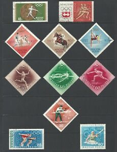 HUNGARY......SUPER SET OF STAMPS (3 PAGES)