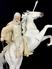 GANDALF with SHADOWFAX Herr der Ringe Lord of the Rings STATUE Weta Sideshow Ovp