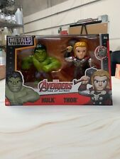 Marvel Metals Die Cast Figures Thor & Hulk