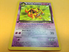 Pokemon Dark Kadabra 39/82 Team Rocket 1st Edition UnCommon Card Mint