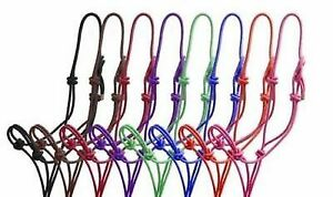 Rope Halter Horse Rope Halter Control Head collar Natural Horsemanship