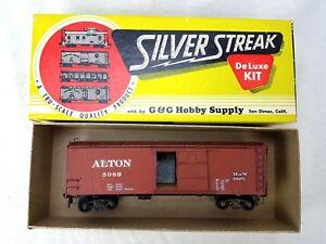 Silver Streak HO Scale Alton 5069 Reefer Car M of W Dept w/Box BUILT