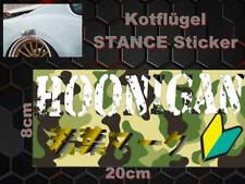 Hoonigan Grün Camo Kotflügel Sticker Aufkleber Kante Kotflügelkante Nifty Zilla