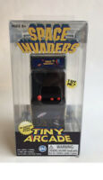 Retro Tiny Arcade Mini Handheld Space Invaders Video Game Keychain In Box