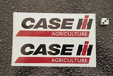 X 2 CASE AGRICULTURE STICKERS 172mm x 52mm Tractor International Harvester