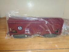 AMERICAN FLYER S GAUGE # 4-9208 SANTA FE (A.T.S.F.)  COVERED HOPPER CAR - NEW
