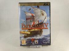 PATRICIAN IV EDIZIONE ORO 4 PC COMPUTER DVD-ROM FX INTERACTIVE NUOVO SIGILLATO