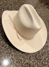 MHT Westerns Master Hatters of Texas 3X Beaver Blend Cowboy Hat - 7 3/8