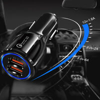 Universal USB Quick Fast CAR Charger Adapter For iPhone Android Car Accessories