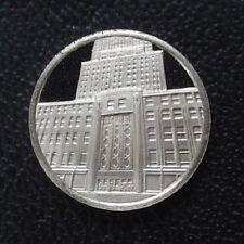 Franklin Mint Sterling Silver Mini-Ingot: 1931 Empire State Building