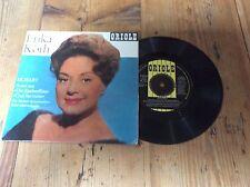 ERIKA Koth-Oriolo EP-Mozart ORIGINALE VERSIONE 1964