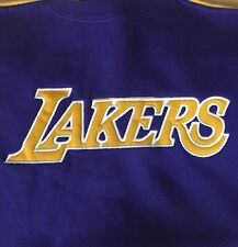 LAKERS SWEATSHIRT-Kids size Small/Size 8-Reebok with embroidered logo