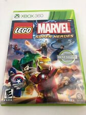 LEGO Marvel Super Heroes (Microsoft Xbox 360, 2013) Complete Free Shipping
