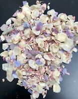 Biodegradable confetti petals Purple Hydrangeas Pink Ivory Eco Wedding Spring 1L